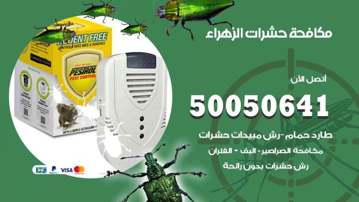 مكافحة حشرات الزهراء / 50050647 / شركة مكافحة الحشرات والقوارض