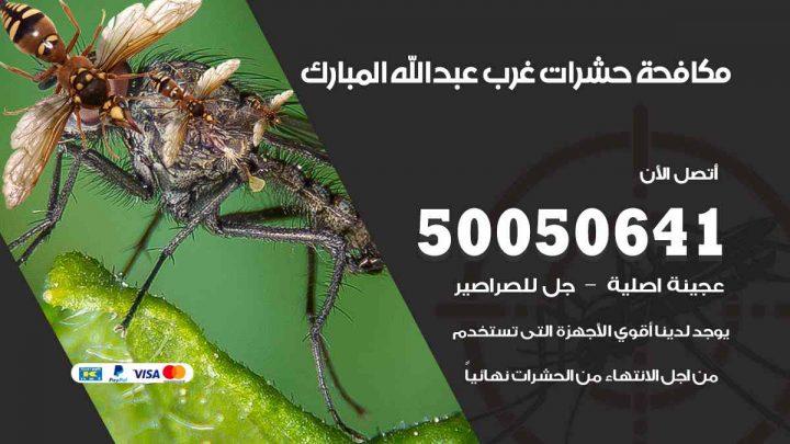مكافحة حشرات غرب عبدالله مبارك / 50050647 / شركة مكافحة الحشرات والقوارض