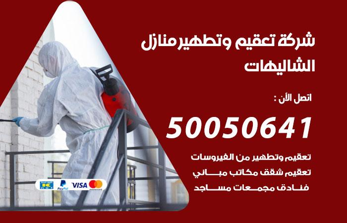 شركة تعقيم وتطهير منازل الشاليهات / 50050641 / تعقيم منازل من فيروس كورونا