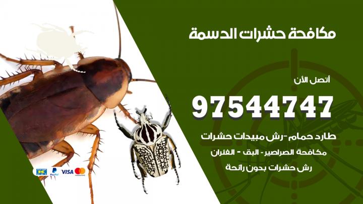 رقم مكافحة حشرات وقوارض الدسمة / 50050647 / شركة رش حشرات خصم 50%