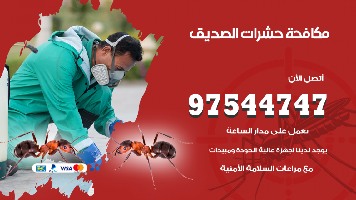رقم مكافحة حشرات وقوارض الصديق / 50050647 / شركة رش حشرات خصم 50%