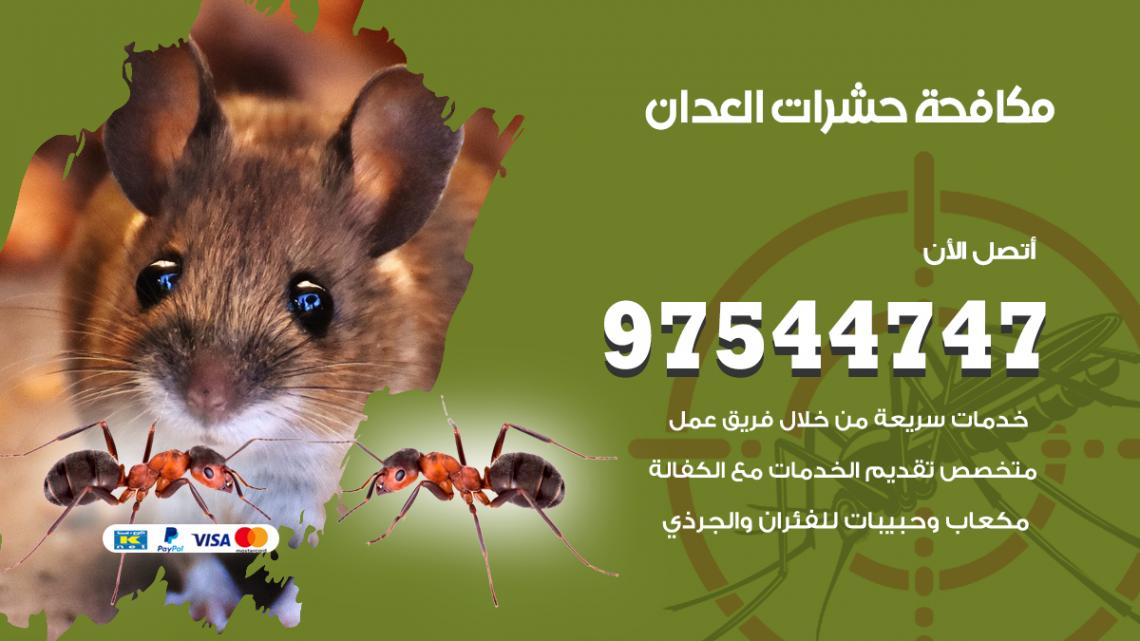 رقم مكافحة حشرات وقوارض العدان / 50050647 / شركة رش حشرات خصم 50%