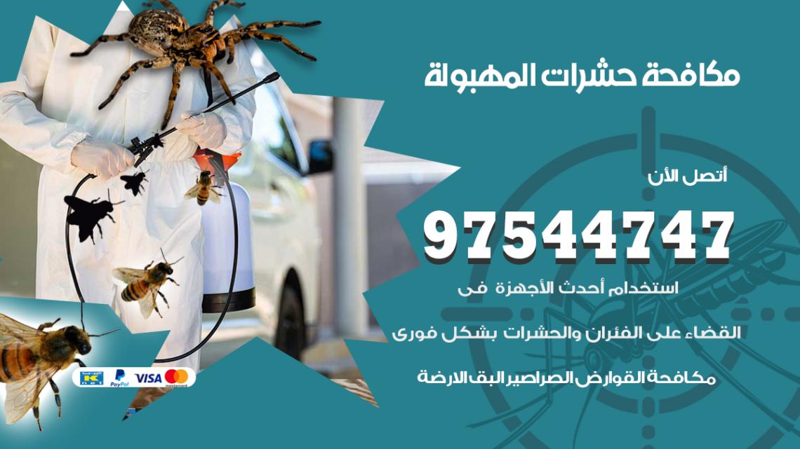 رقم مكافحة حشرات وقوارض المهبولة / 50050647 / شركة رش حشرات خصم 50%