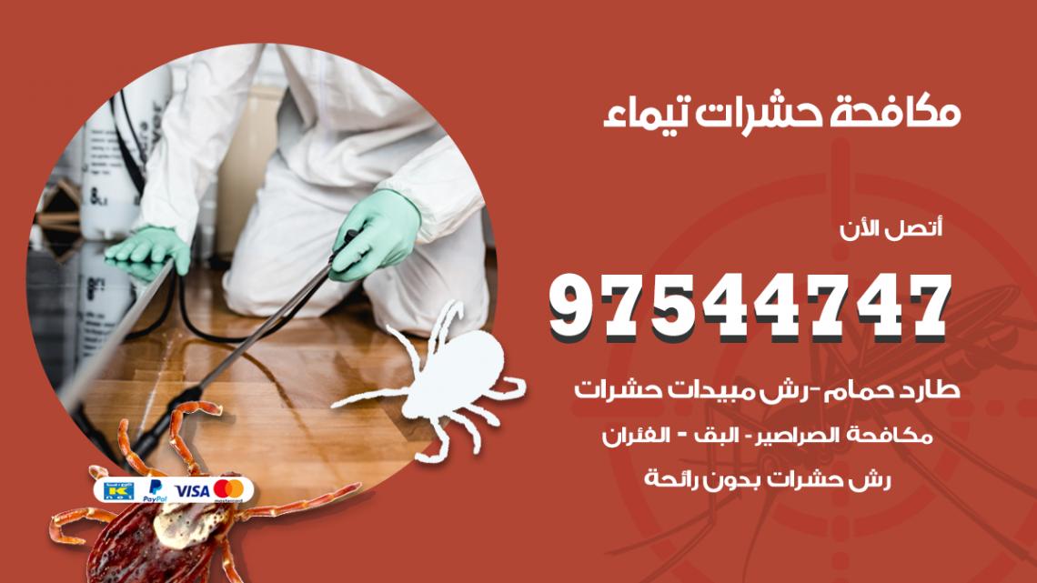 رقم مكافحة حشرات وقوارض تيماء / 50050647 / شركة رش حشرات خصم 50%