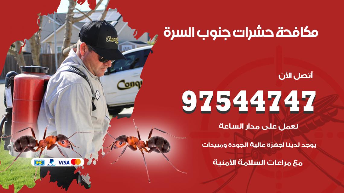 رقم مكافحة حشرات وقوارض جنوب السرة / 50050647 / شركة رش حشرات خصم 50%