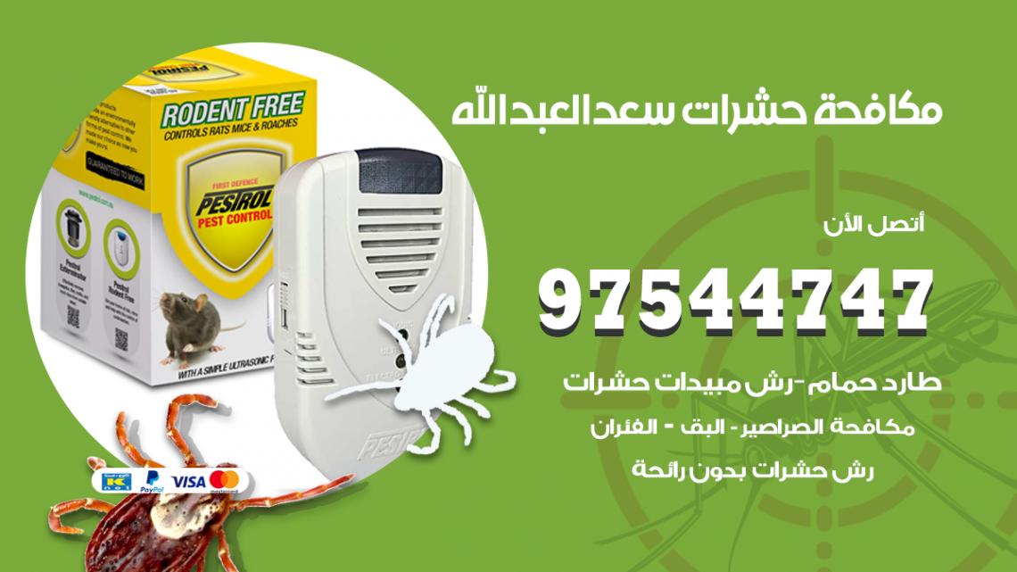 رقم مكافحة حشرات وقوارض سعد العبدالله / 50050647 / شركة رش حشرات خصم 50%