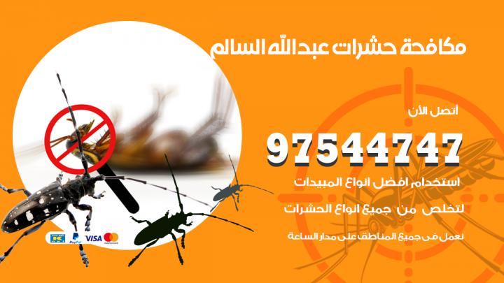 رقم مكافحة حشرات وقوارض ضاحية عبدالله السالم / 50050647 / شركة رش حشرات خصم 50%