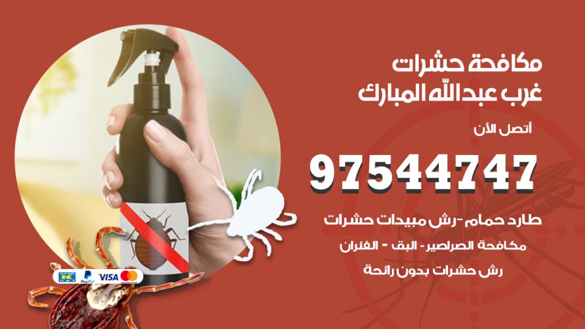 رقم مكافحة حشرات وقوارض غرب عبدالله مبارك / 50050647 / شركة رش حشرات خصم 50%
