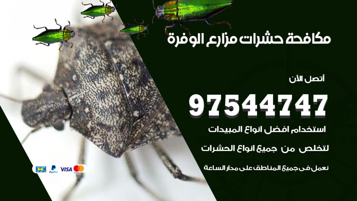 رقم مكافحة حشرات وقوارض الوفرة / 50050647 / شركة رش حشرات خصم 50%
